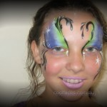 2011 COOL FACES CALOUNDRA WEDDING DAY PRETTY FACE PAINTING