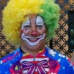 cool faces clown for birthday parties