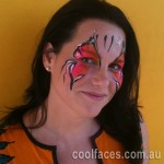 cool faces face painting adult face painting