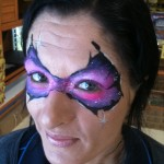 cool faces face painting masquerade
