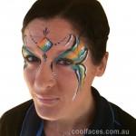 cool faces face painting princess kawana