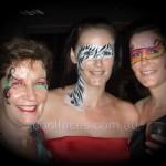 cool faces face painting masquerade ball Kawana