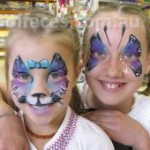 face painting girls birthday parties noosa