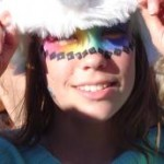 rainbow face painting gympie