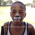 face painting birthday parties tiger